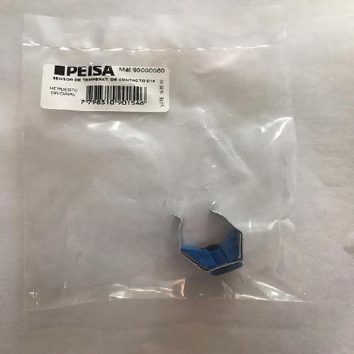 Repuesto Caldera Peisa Sensor De Temperatura De Contacto D18 Azul