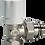 Thumbnail: Valvula Escuadra Termostatica de 1/2 Luxor Italiana Con Cabezal para Radiador