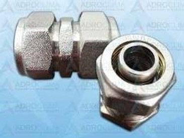 Niple Union para tubo pex de 16mm