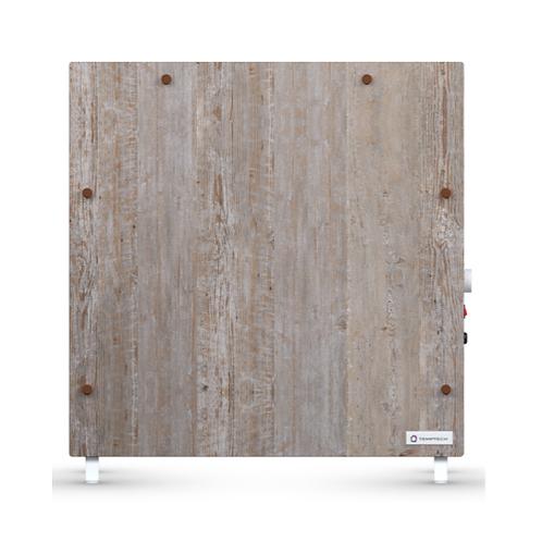 Panel Calefactor Radiante B/consumo Madera Rustica 1400 Temptech