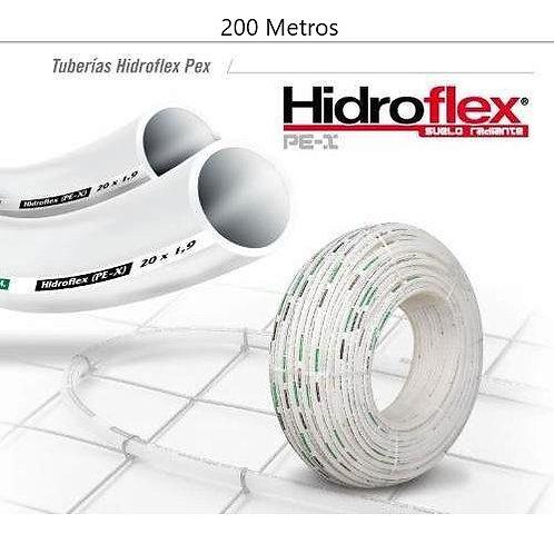 Rollo de Tubo Pex de 20mm X 200Mts Hidroflex