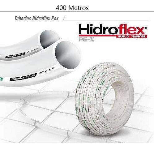 Rollo de Tubo Pex de 20mm X 400Mts Hidroflex