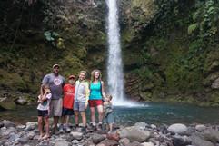 Caida del Cielo Waterfall