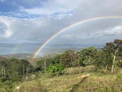 Rainbow over Laguna Arenal