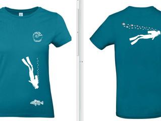 T-shirt plongée 2019 !!!!