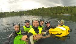 Apnée au lac de Beaumont/oise