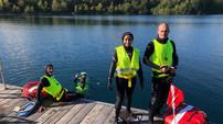 Sortie Apnée au Lac de Beaumont sur Oise le 03 octobre 2020