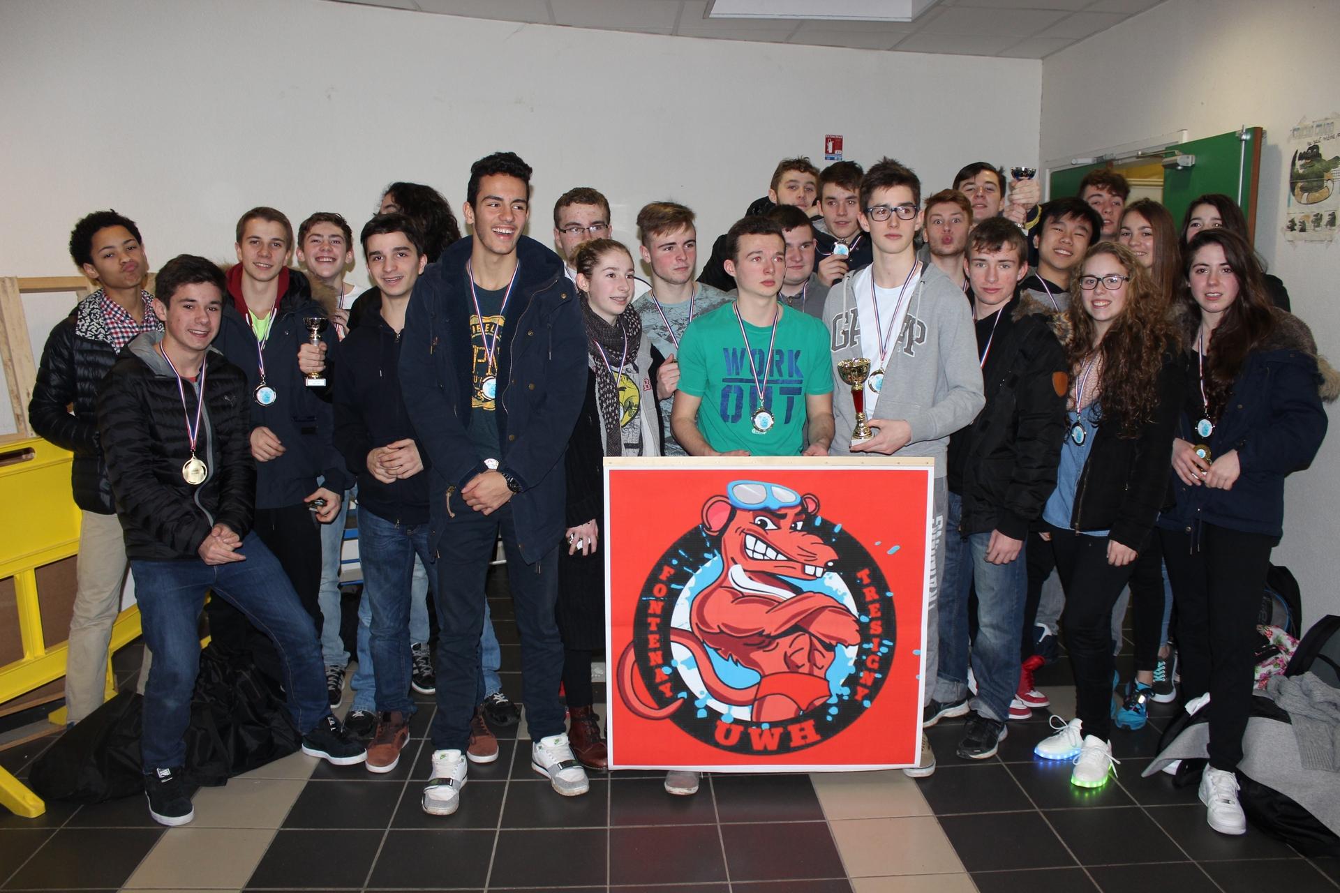 Podium du championnat IDF-Picardie