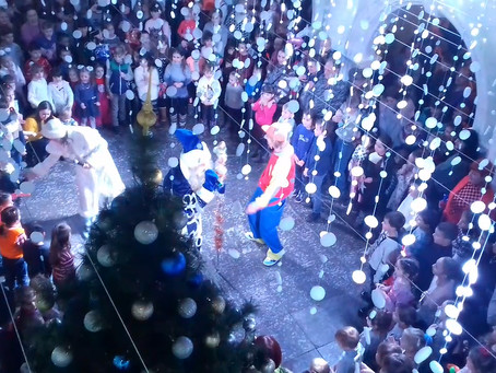 DTS Group Supported Magical New Year Performance for the Children of Its Employees