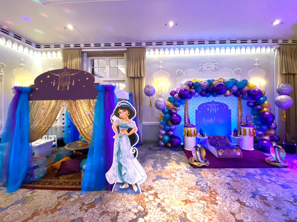 Aladdin Themed Celebration