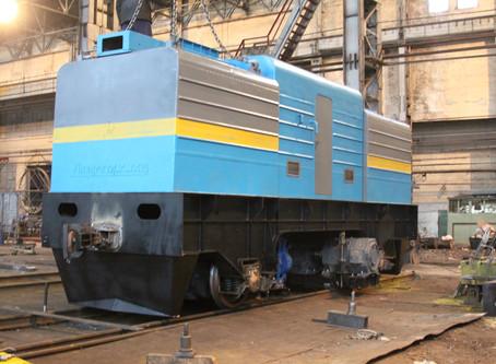 Wagon Pusher T-20 Especially for ArcelorMittal Temirtau