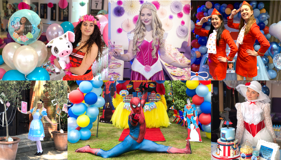 Costumed Entertainers