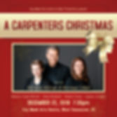 Flyer - Carpenters Christmas 2018 square