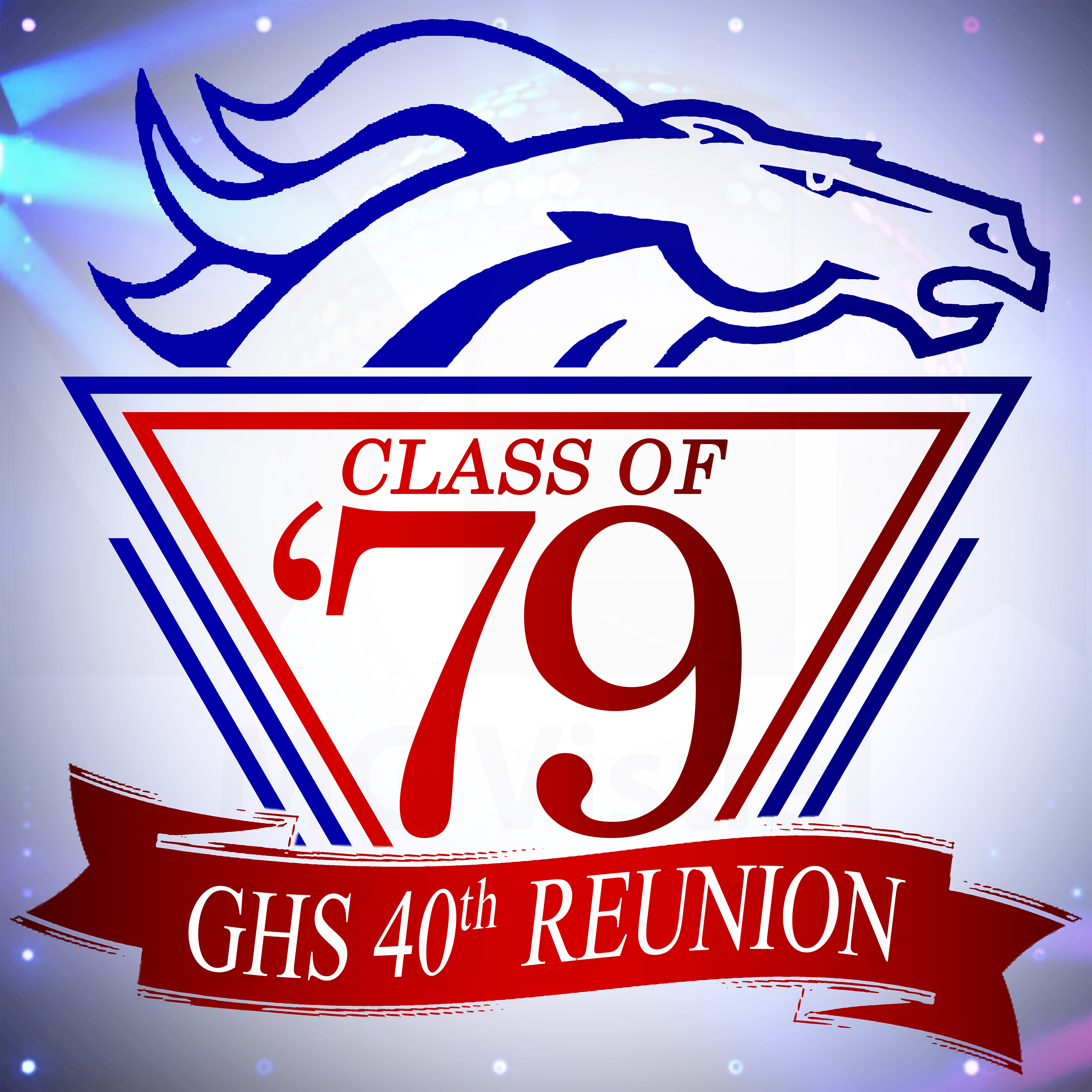 GHS 40th Reunion Logo