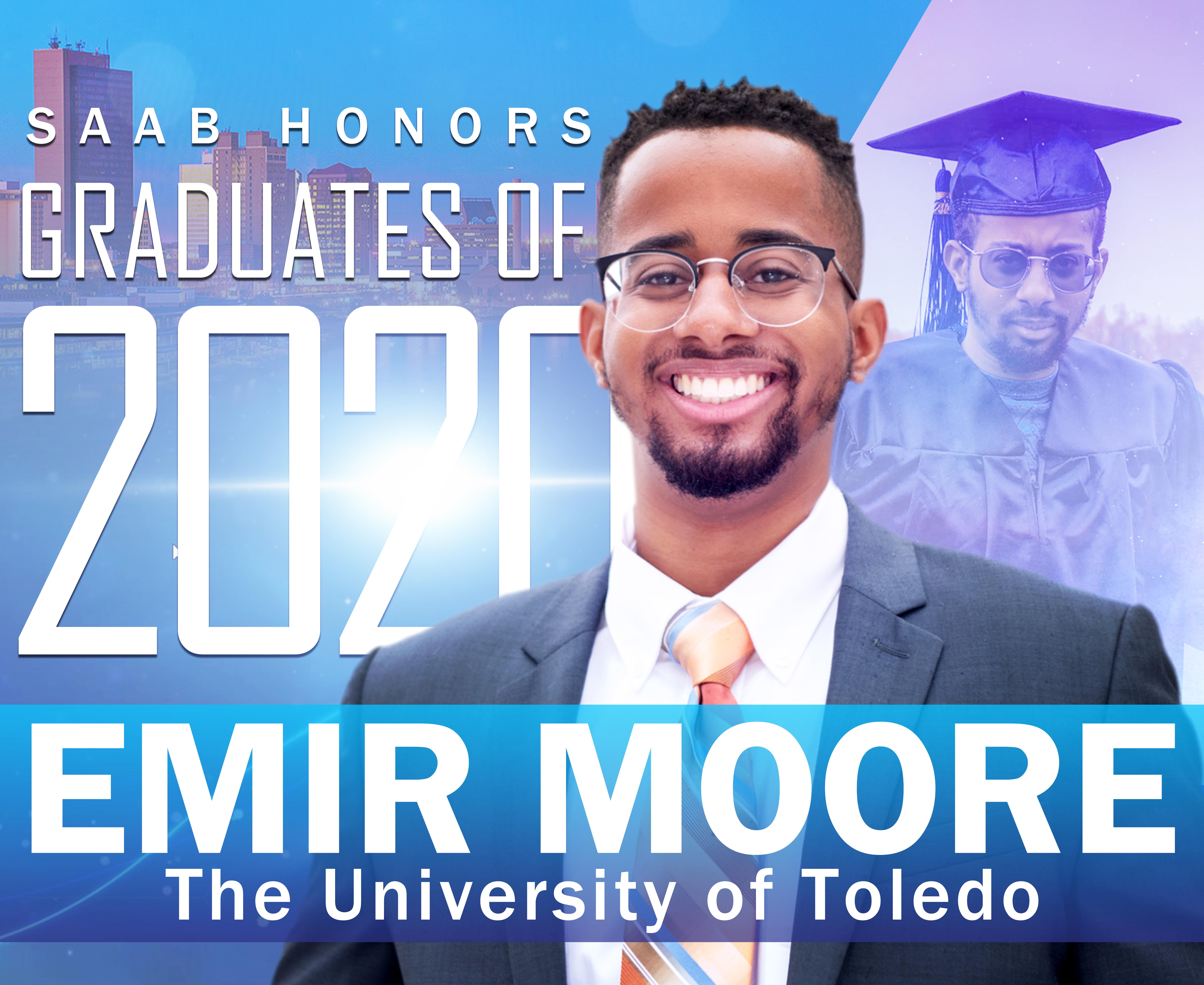 Emir Moore 2020 Graduation