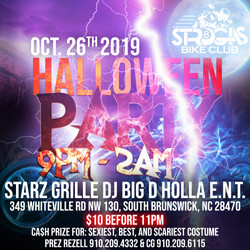 Str8 Gas Halloween Party AD
