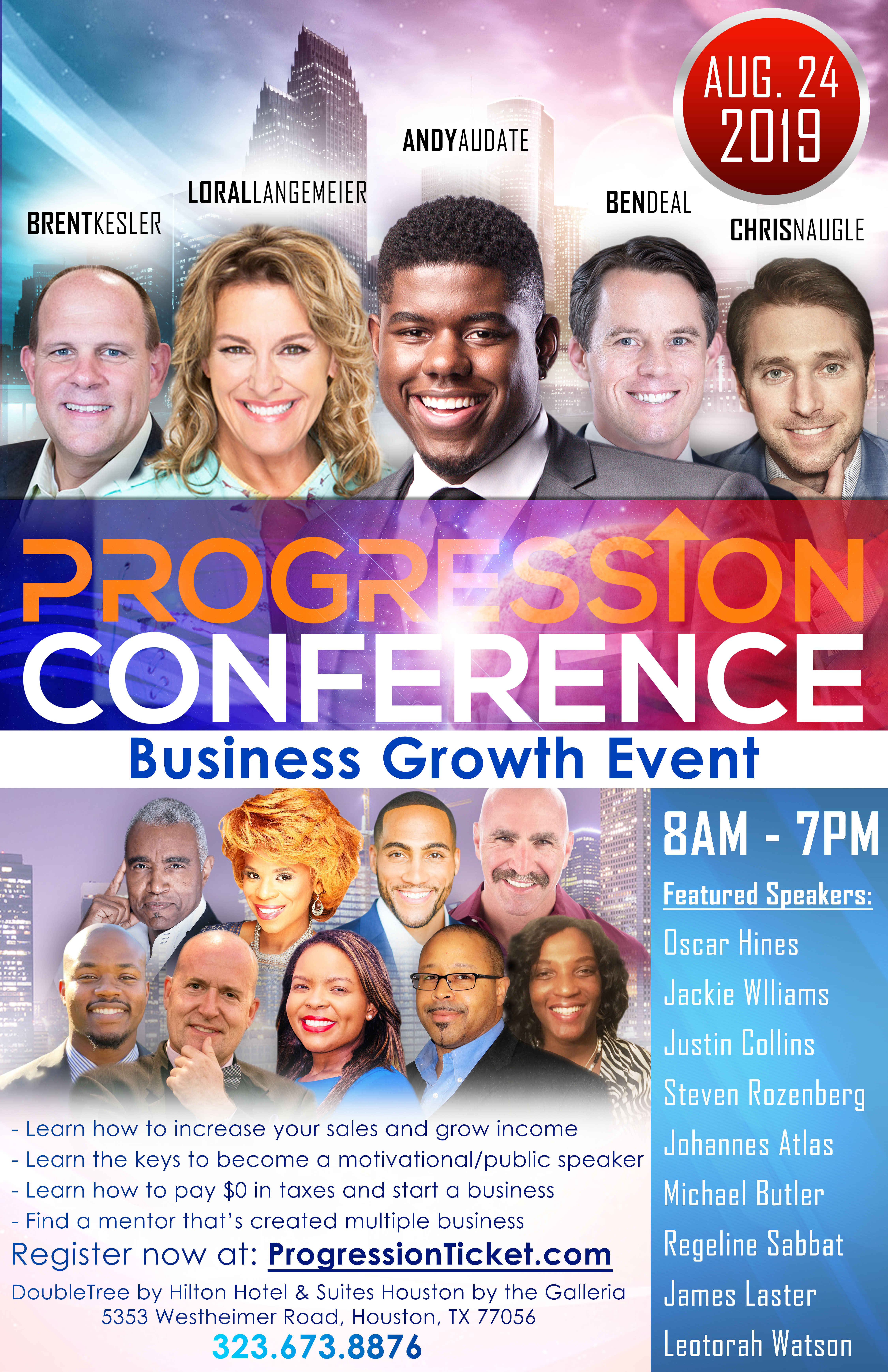 Progression Conference Houston