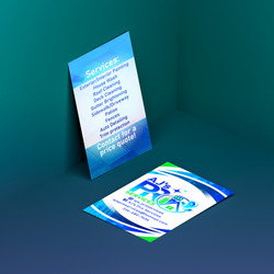 AJ's Pro Services Business Card