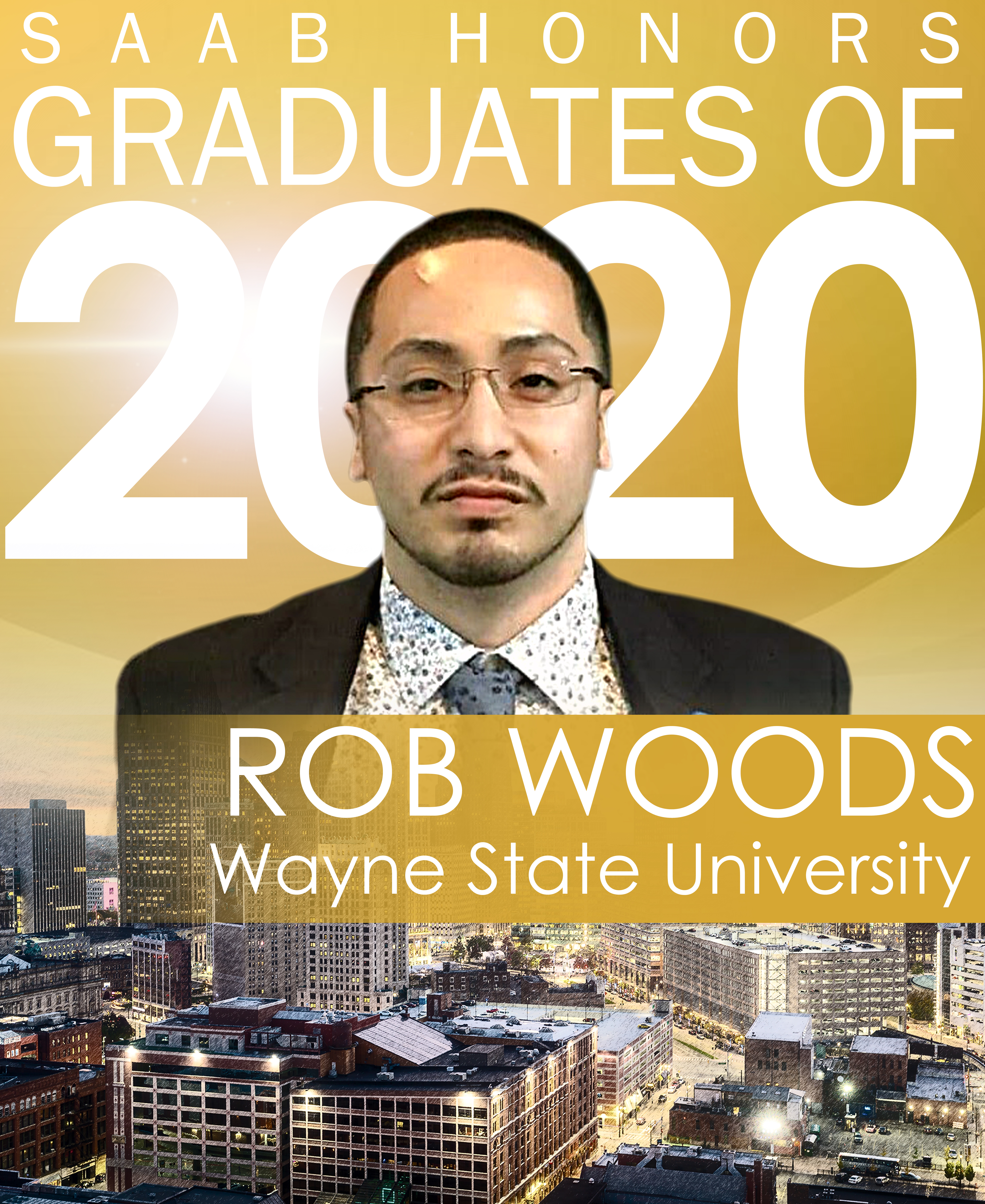 Rob Woods 2020 Graduation