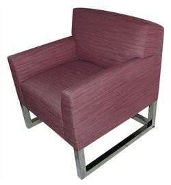 Purple Lounge Chair