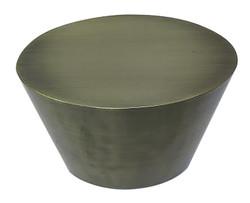 Metal Oval Side Table