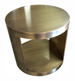 Antique Brass Table Base 1