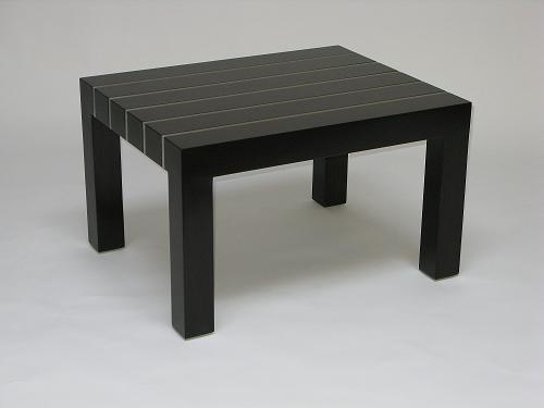 Metal Inlay Coffee Table