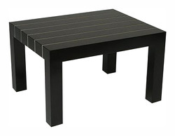 Metal Inlay Coffee Table