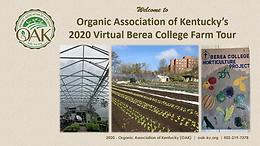 Berea College Farm Virtual Tour