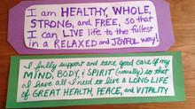 HIT YOUR HEALTH GOALS