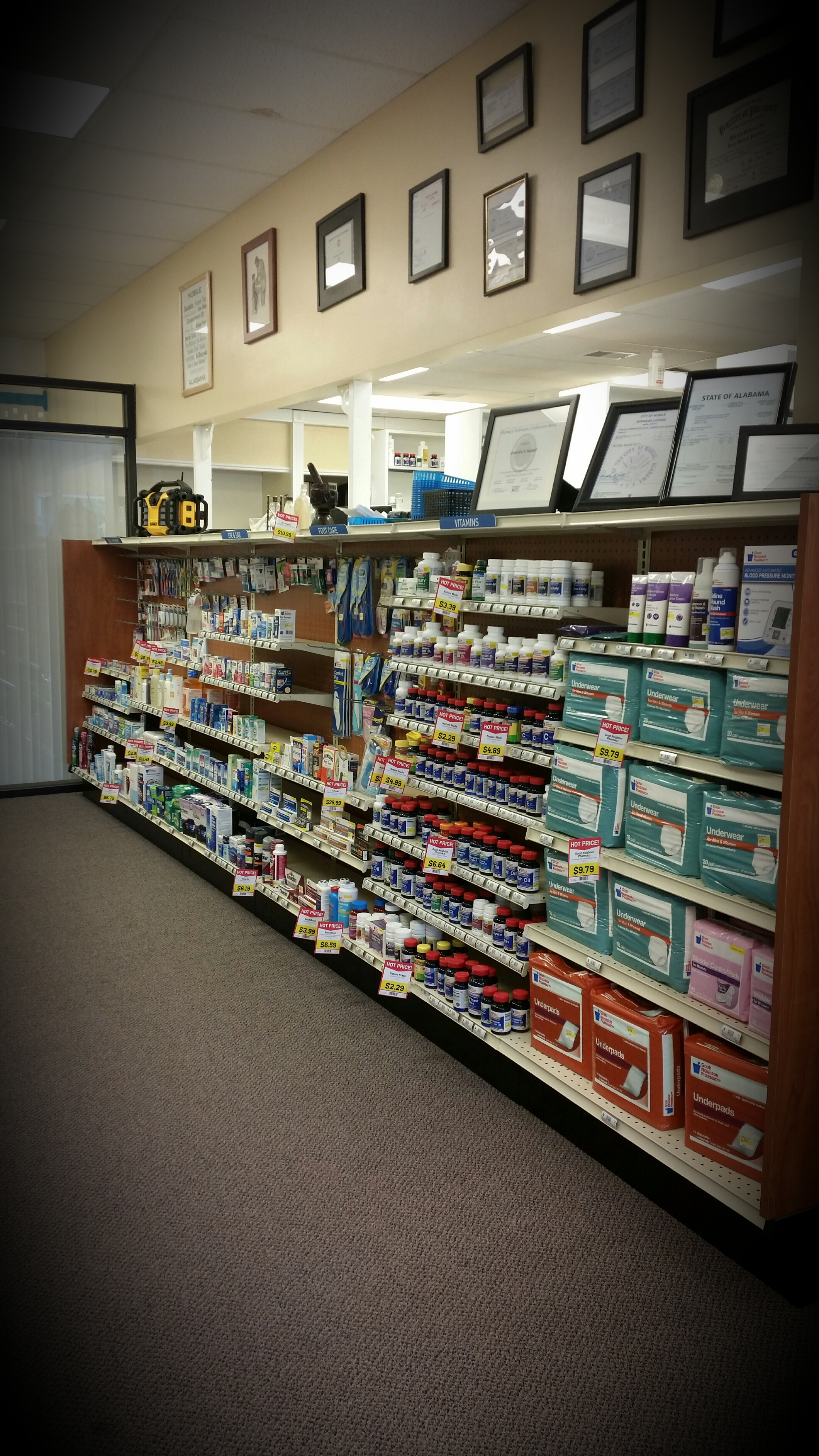 We can meet your everyday otc needs