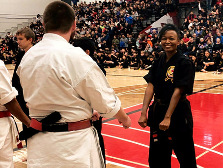 "Starting the year with ""black belt excellence""…and other tales from the dojo"