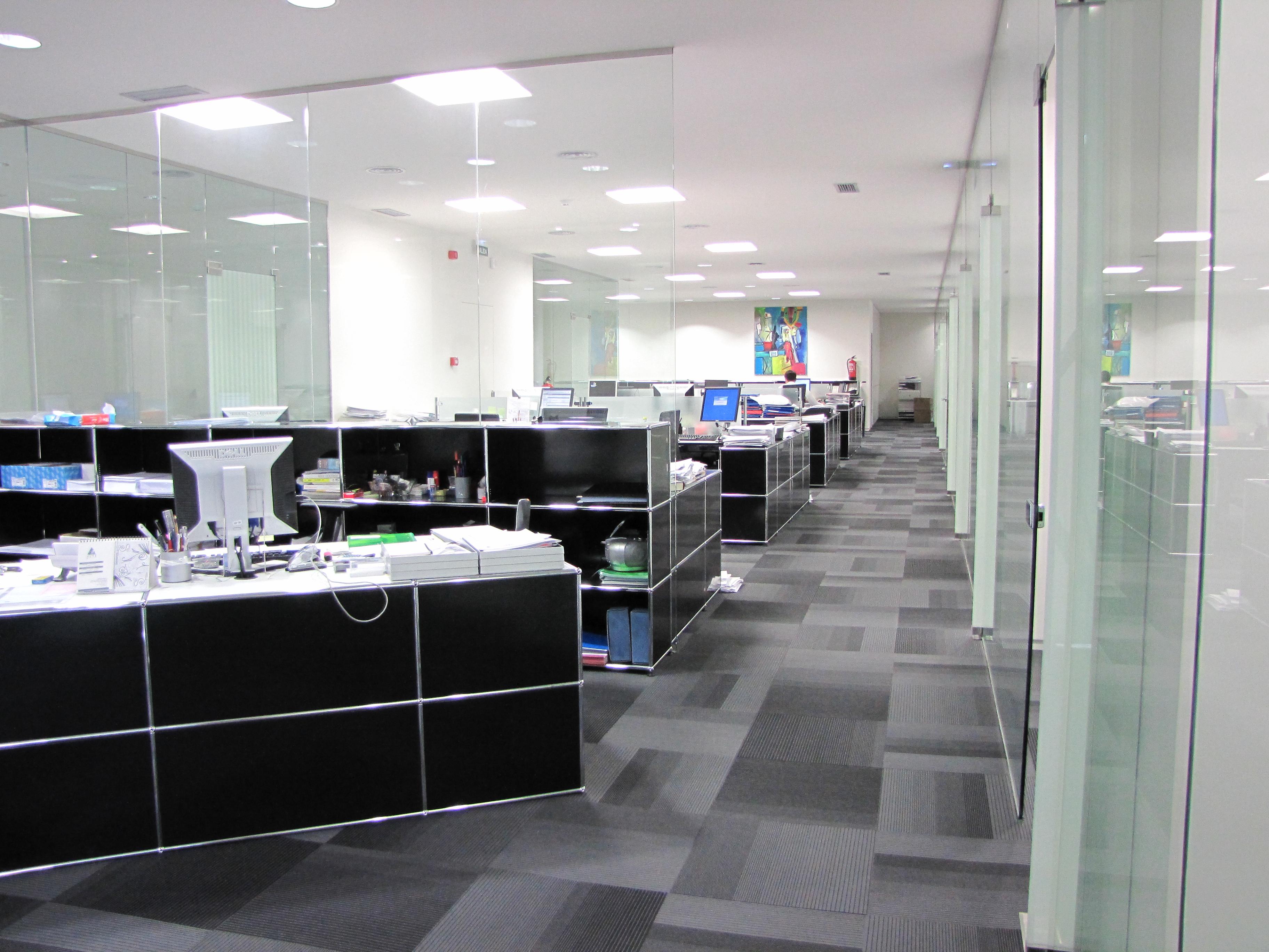 Reforma oficinas 2012