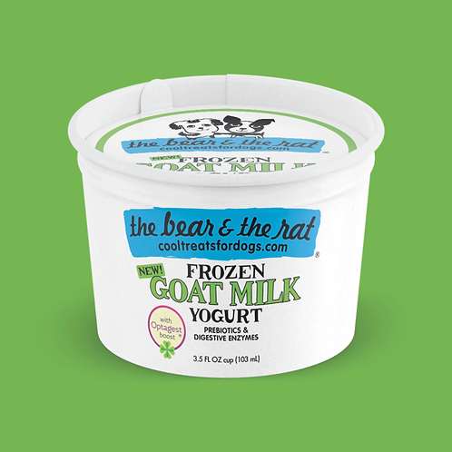 Frozen Goat Milk Yogurt (3.5oz)