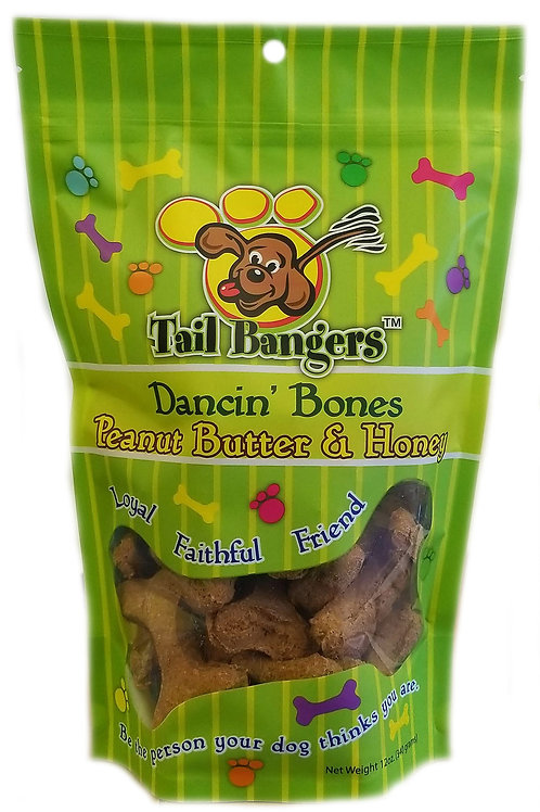 Dancin' Bones - Peanut Butter & Honey Flavored