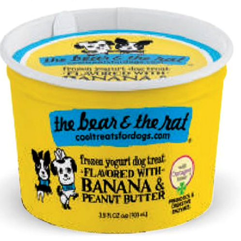 Banana & Peanut Butter Frozen Yogurt Treat (3.5oz)