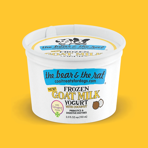 Frozen Goat Milk Yogurt with Coconut (3.5oz.)