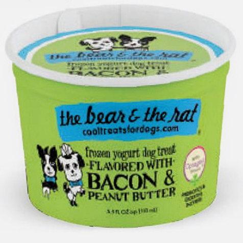 Bacon & Peanut Butter Frozen Yogurt Treat (3.5oz)