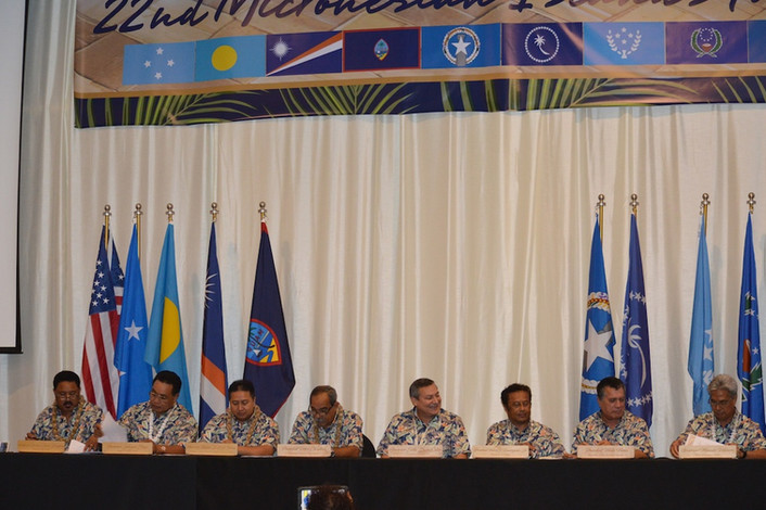 Micronesian Islands Forum Ends With Stronger Commitments
