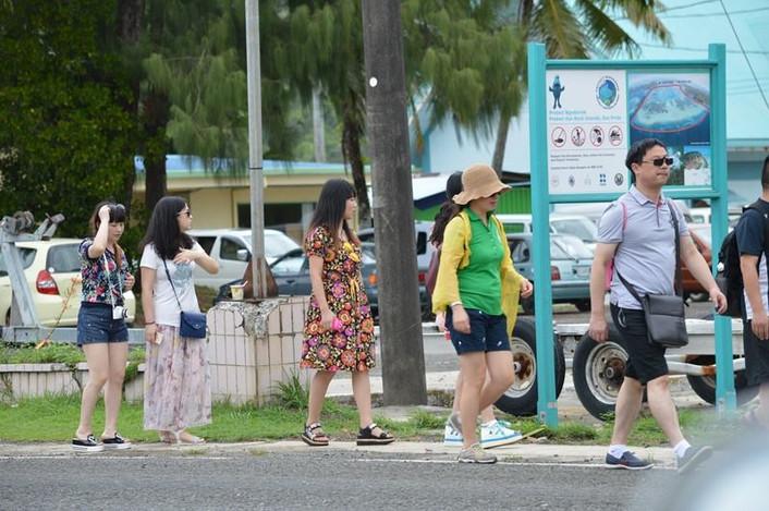 Palau's economy hit by declining tourism