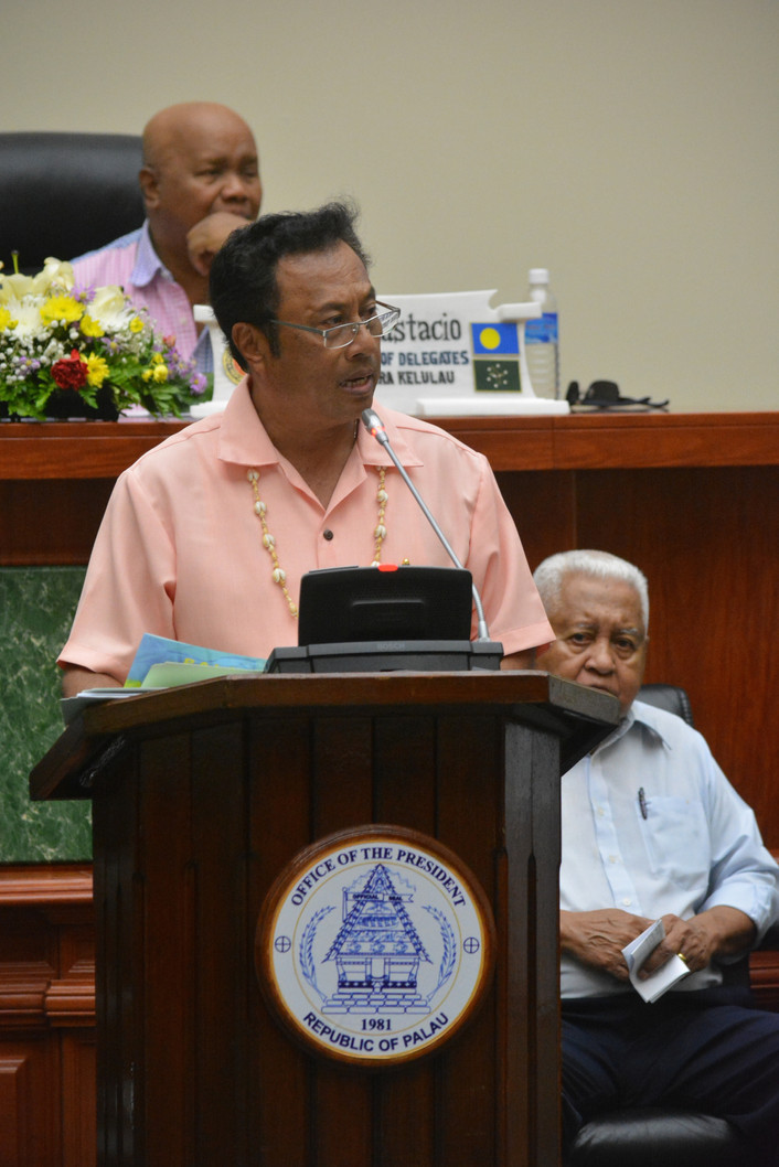 Remengesau Touts Palau Economic Growth In State Of The Republic Address