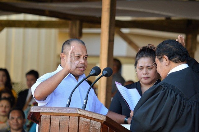"""Challenge Accepted: Palau Vice President Raynold """"Arnold"""" Oilouch Tasked To Clean  Ministry of Justi"""
