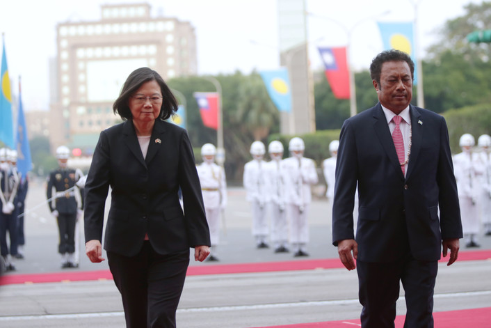 Palau urges Taiwan to boost business ties, tourism