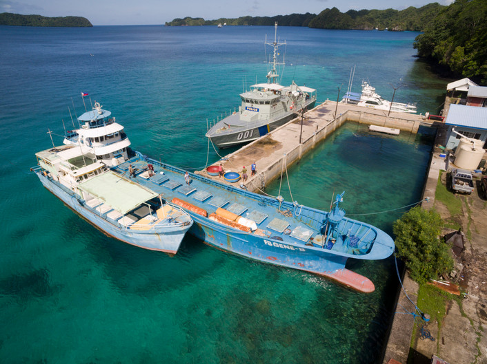 Palau Marine Law Seizes Suspected Illegal 'Mother Ship'