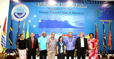 Annual Pacific Islands Forum Opens in FSM