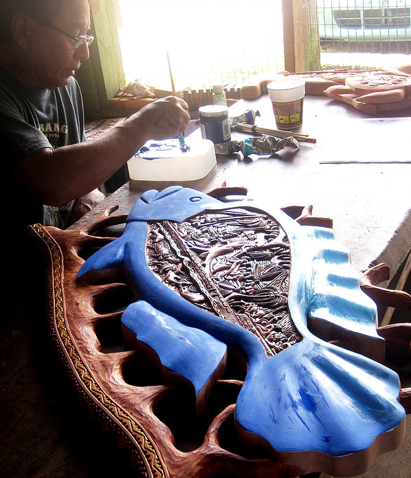 A Tradition Carved In Wood, A Business Of Passion