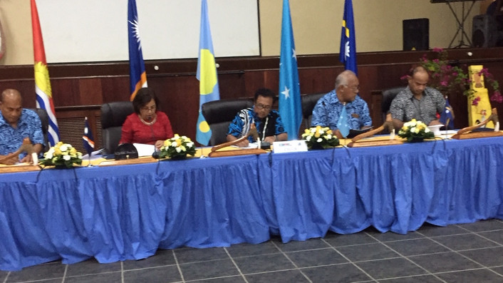 "Micronesian leaders to PIF: China and Taiwan are to be treated ""equally"""