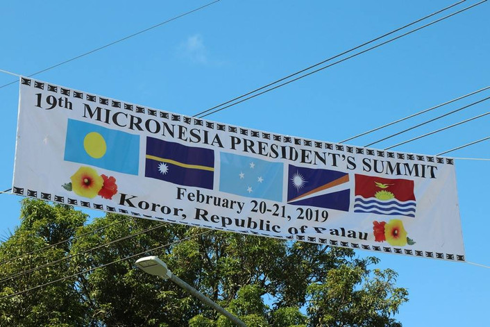 Palau to host Micronesian Presidents' Summit this week