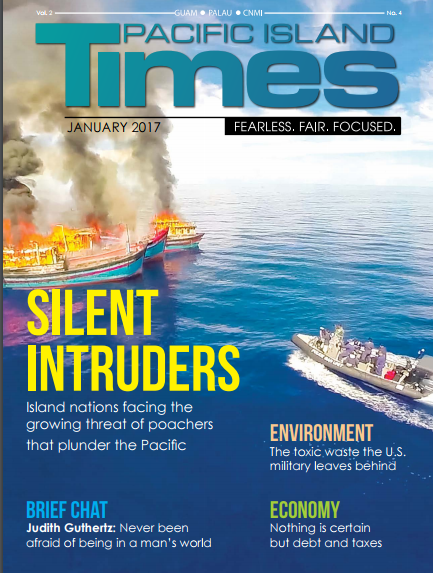 Watch Out For Pacific Island Times and Pacific Note January 2017 print edition