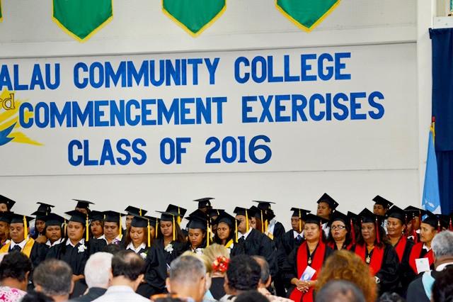 Graduation Day For Palau Community College